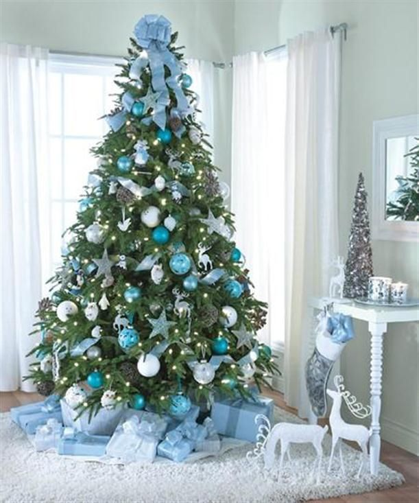 charming christmas tree decorating14