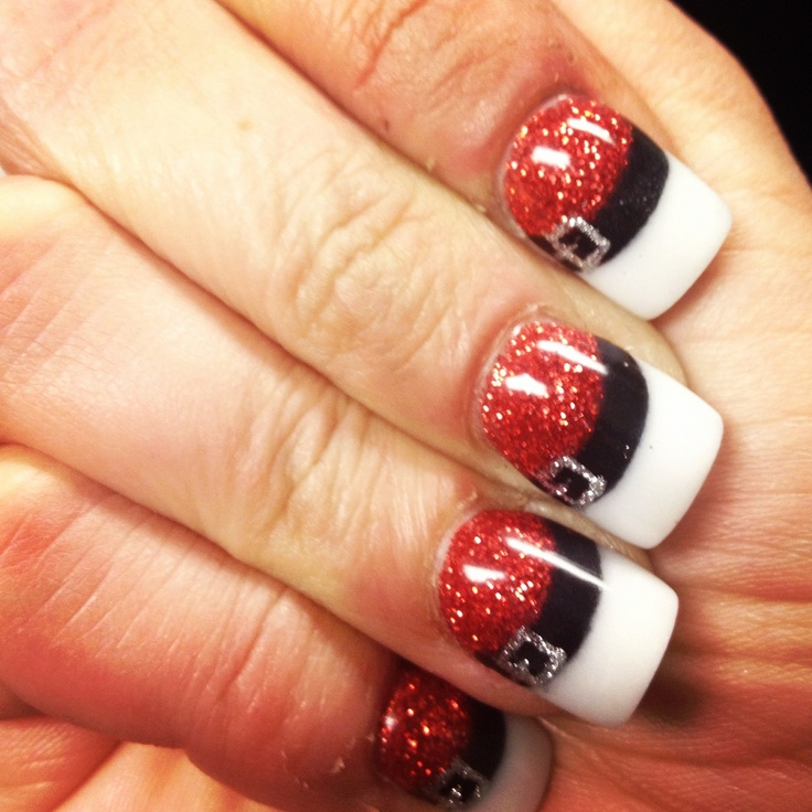 14 Creative And Easy Diy Christmas Nail Art Ideas And Tutorials