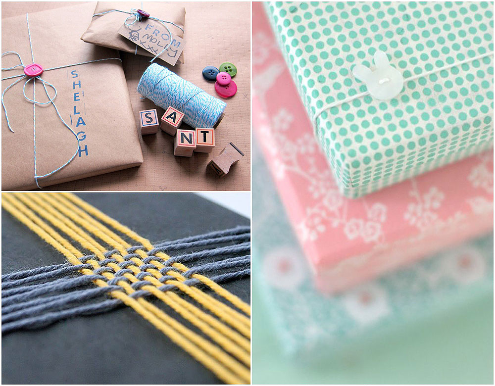DIY Christmas Wrapping Gift Ideas14