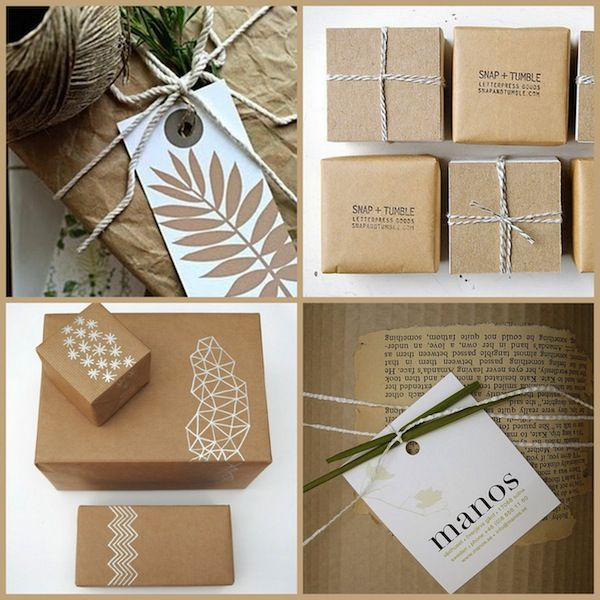 DIY Christmas Wrapping Gift Ideas15