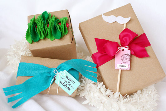 DIY Christmas Wrapping Gift Ideas17