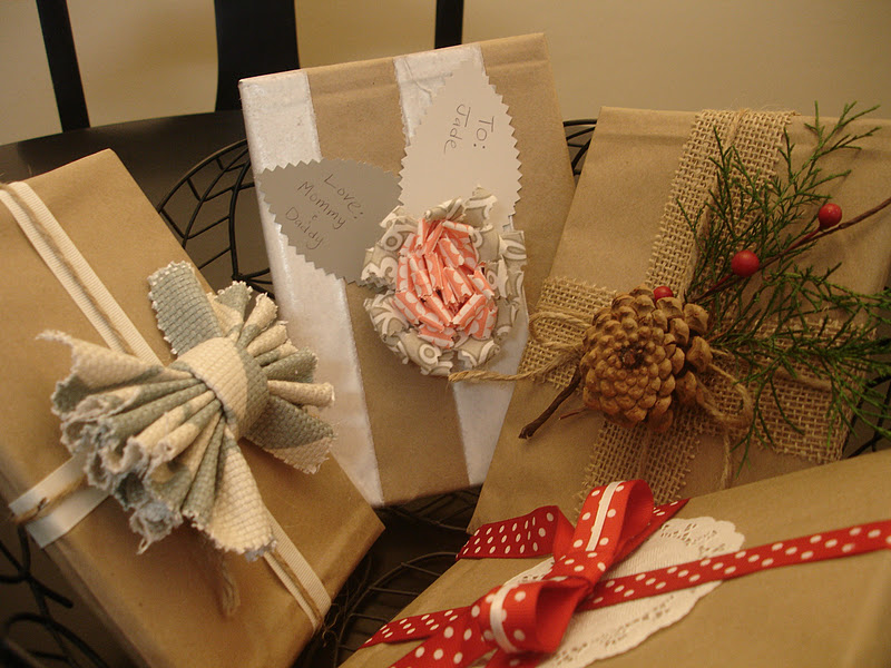 DIY Christmas Wrapping Gift Ideas18