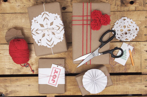 DIY Christmas Wrapping Gift Ideas24