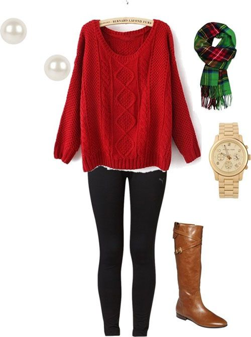 Fantastic Party Outfit for Christmas12