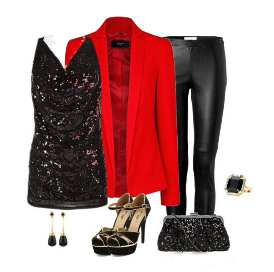 Fantastic Party Outfit for Christmas4