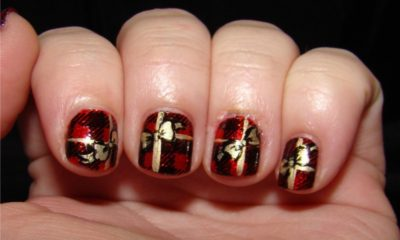 20 Festive Nail Art for Christmas