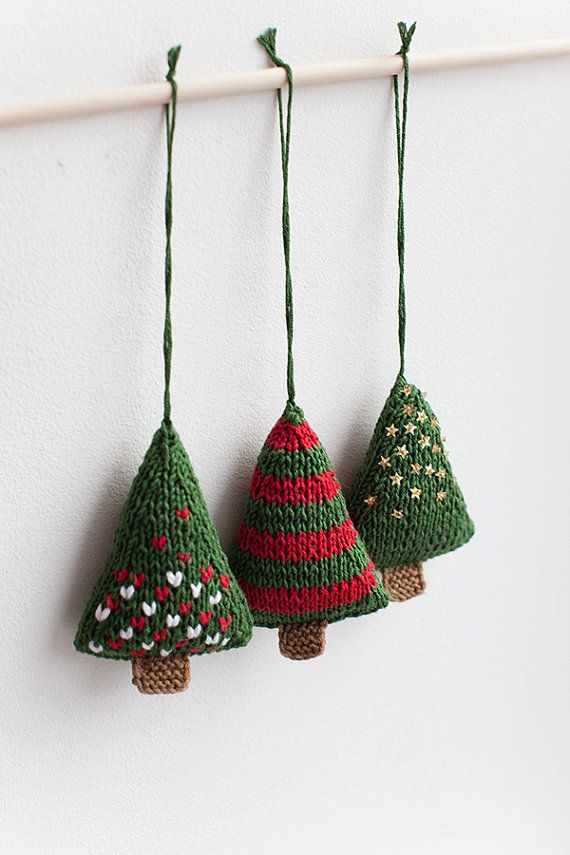 How To Knit Christmas Decorations Christmas Ornament Knit Pattern