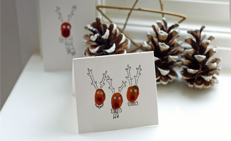 20 DIY Christmas Cards – Add Some Personal Touch to the Greetings ...
