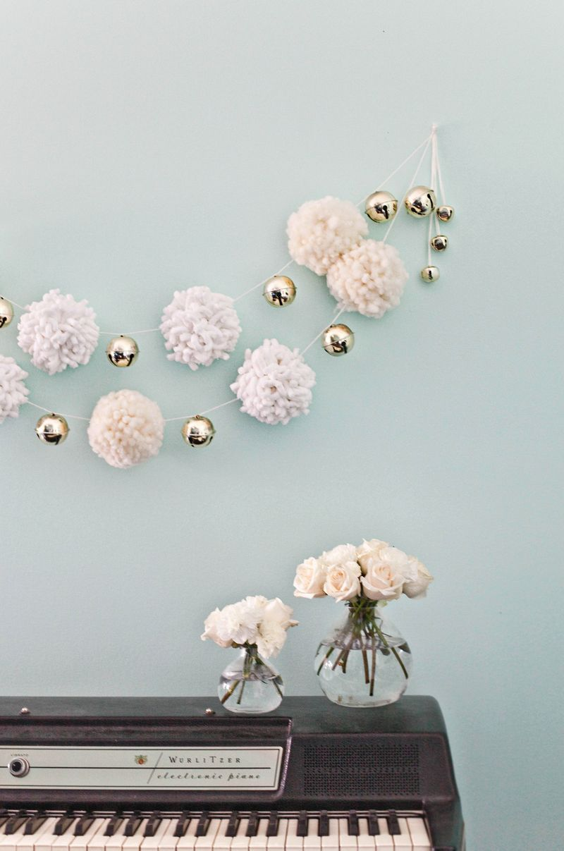 Pom Pom Garlands for Christmas2