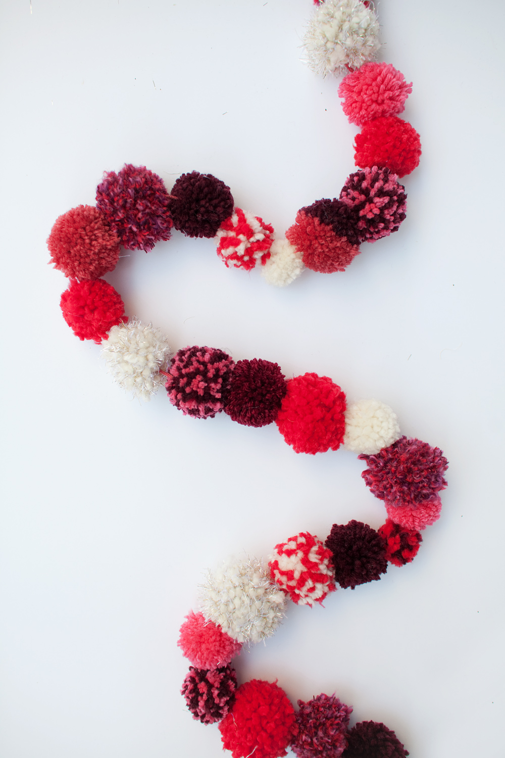 Pom Pom Garlands for Christmas30
