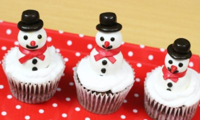 Pretty Snowman Cake Ideas for Christmas18