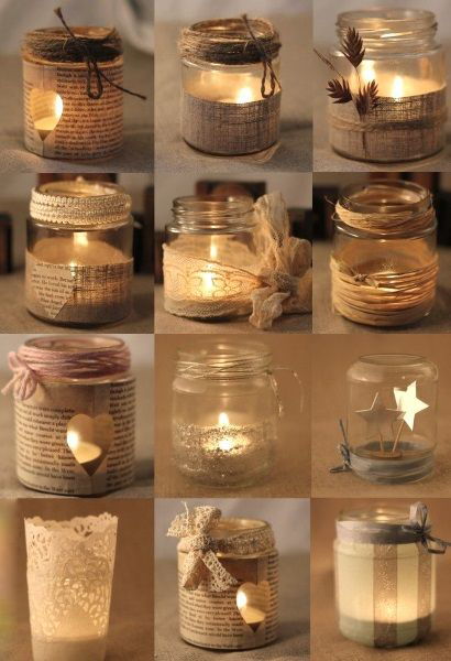 Recycle the Mason Jars at Home17
