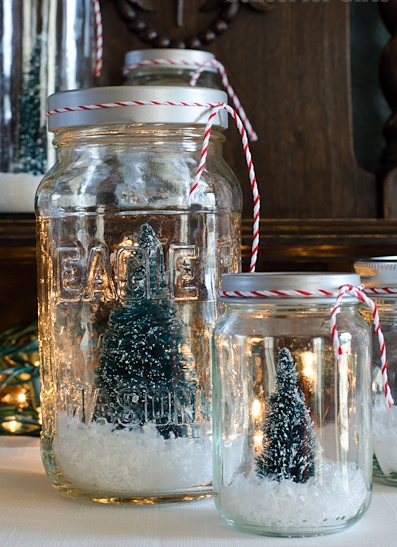 Recycle the Mason Jars at Home6