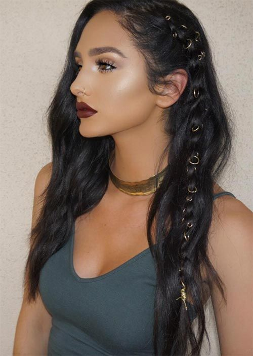 Wonderful Hairstyle for Christmas and Holidays20