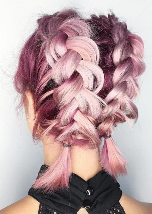 Wonderful Hairstyle for Christmas and Holidays26