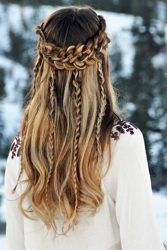 Wonderful Hairstyle for Christmas and Holidays28