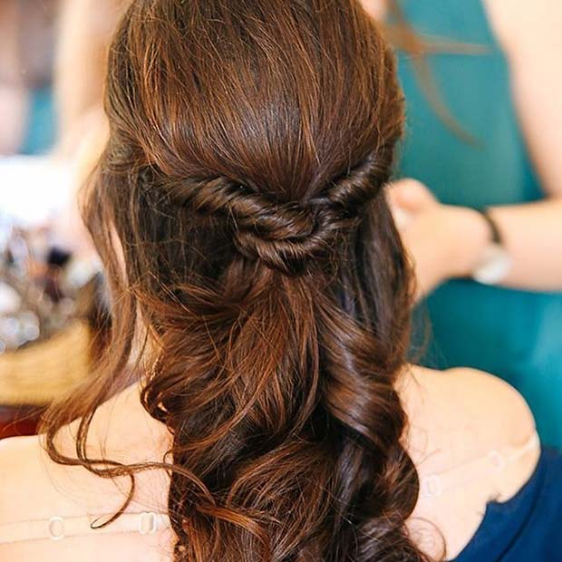Wonderful Hairstyle for Christmas and Holidays34