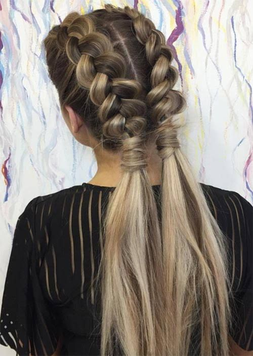 Wonderful Hairstyle for Christmas and Holidays35