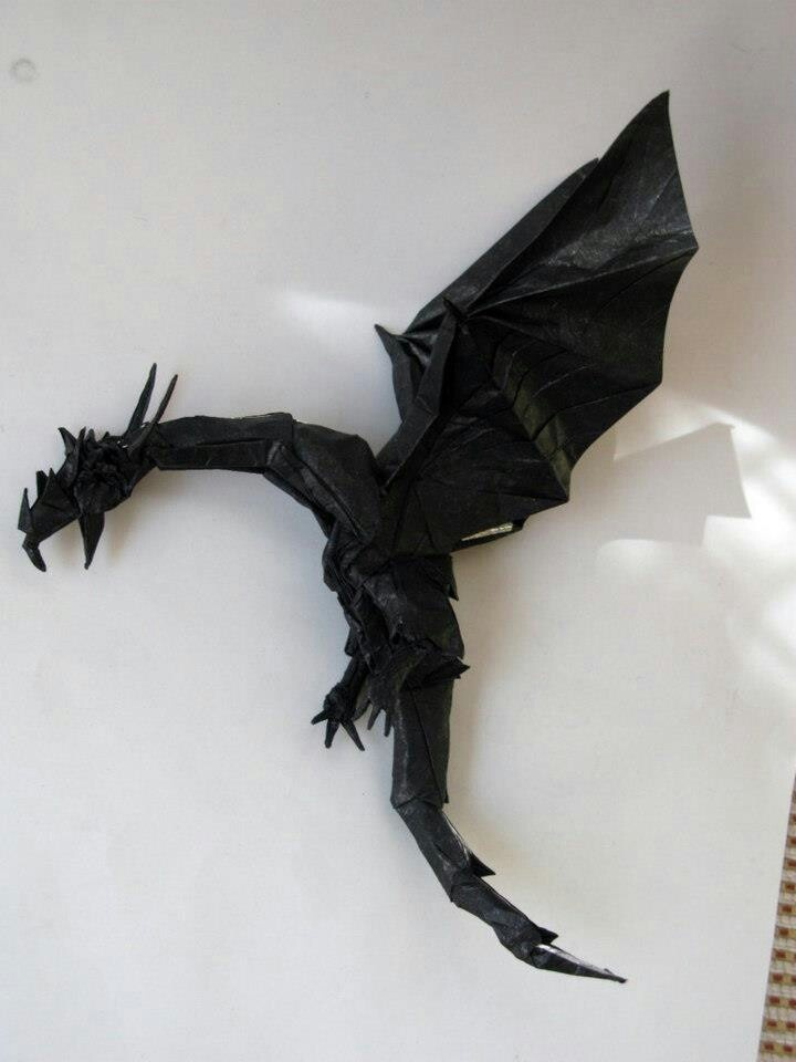 Amazing Examples of origami paper art 10