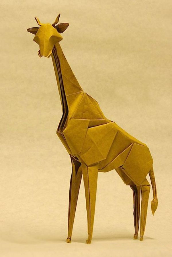 Amazing Examples of origami paper art 13