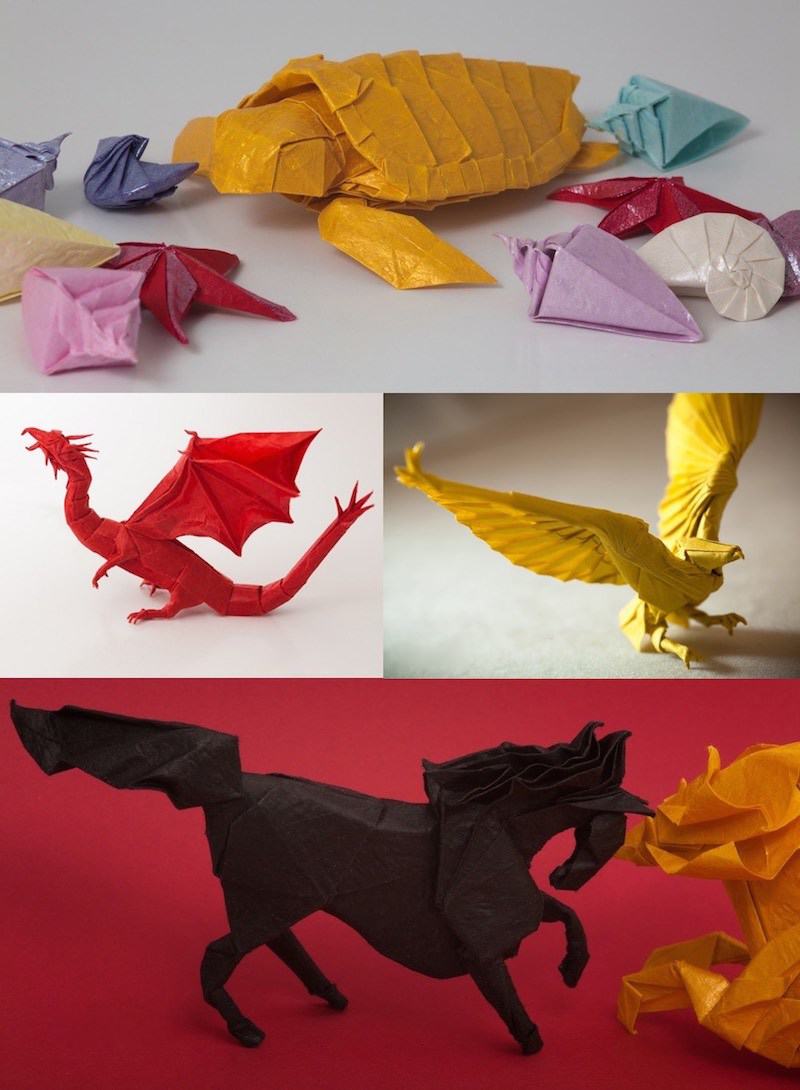 Amazing Examples of origami paper art 16