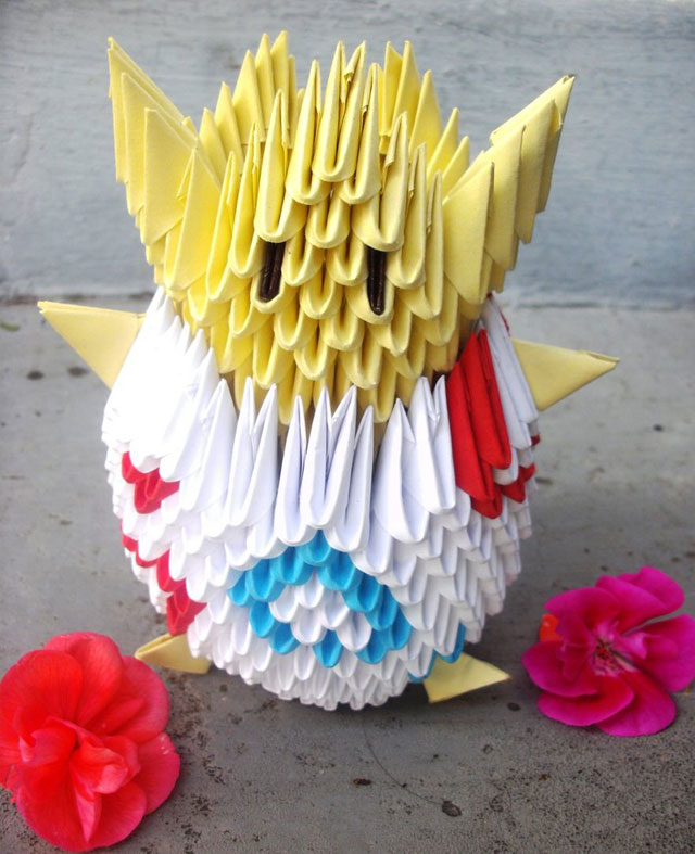 Amazing Examples of origami paper art 20