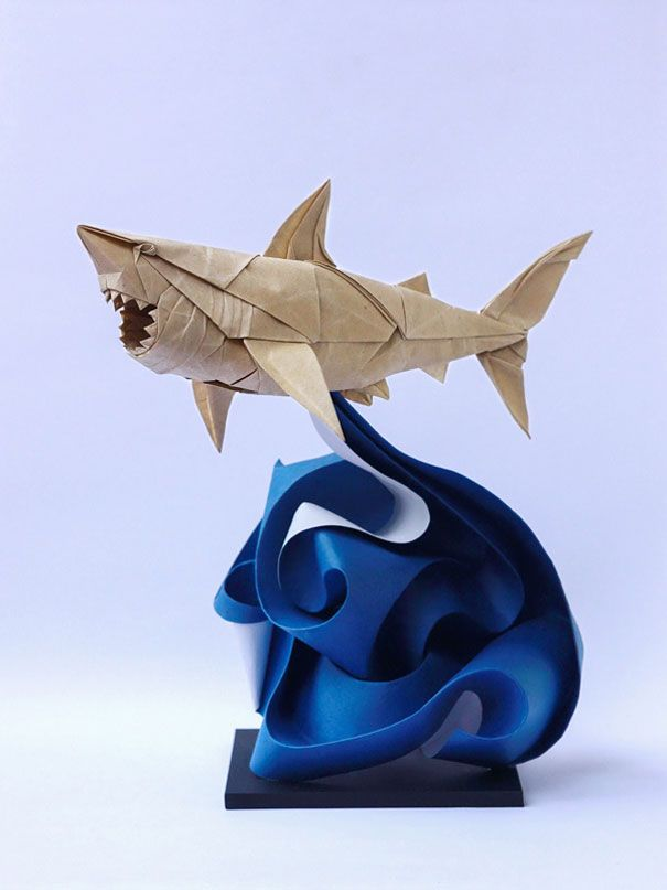 Amazing Examples of origami paper art 3