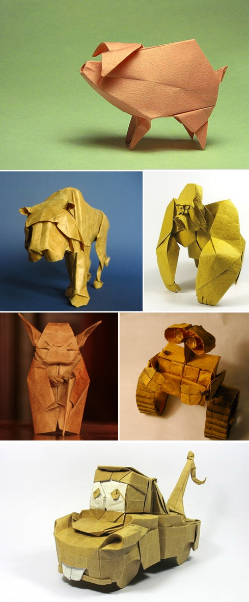 Amazing Examples of origami paper art 33