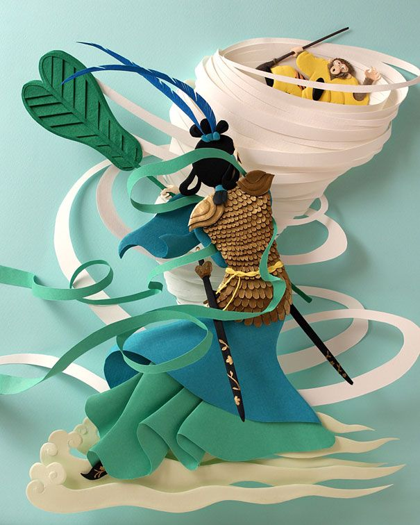 Amazing Examples of origami paper art 36