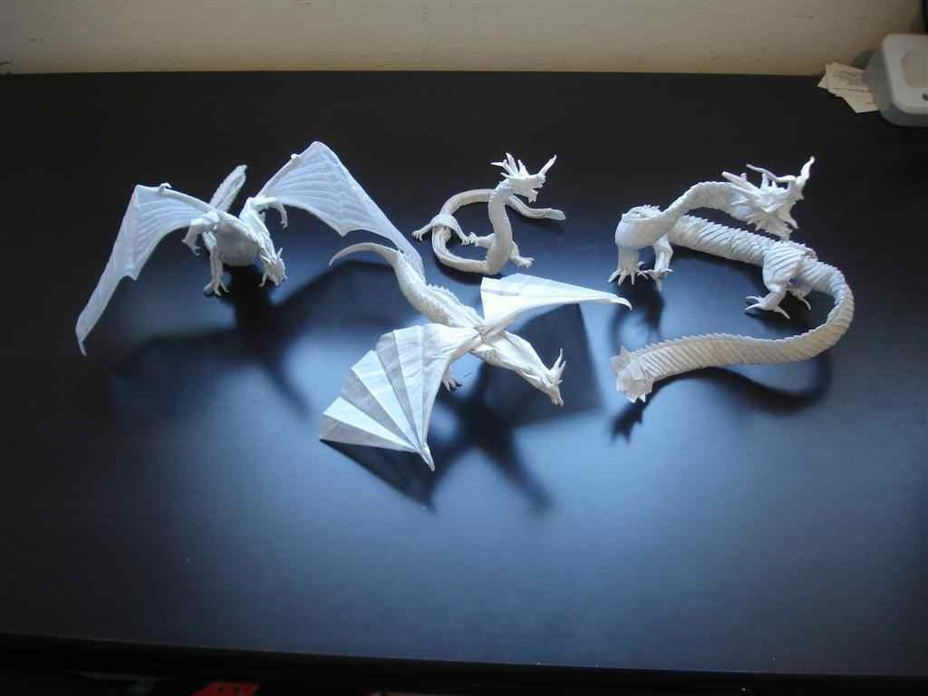 Amazing Examples of origami paper art 43