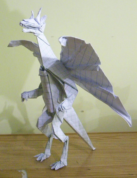 Amazing Examples of origami paper art