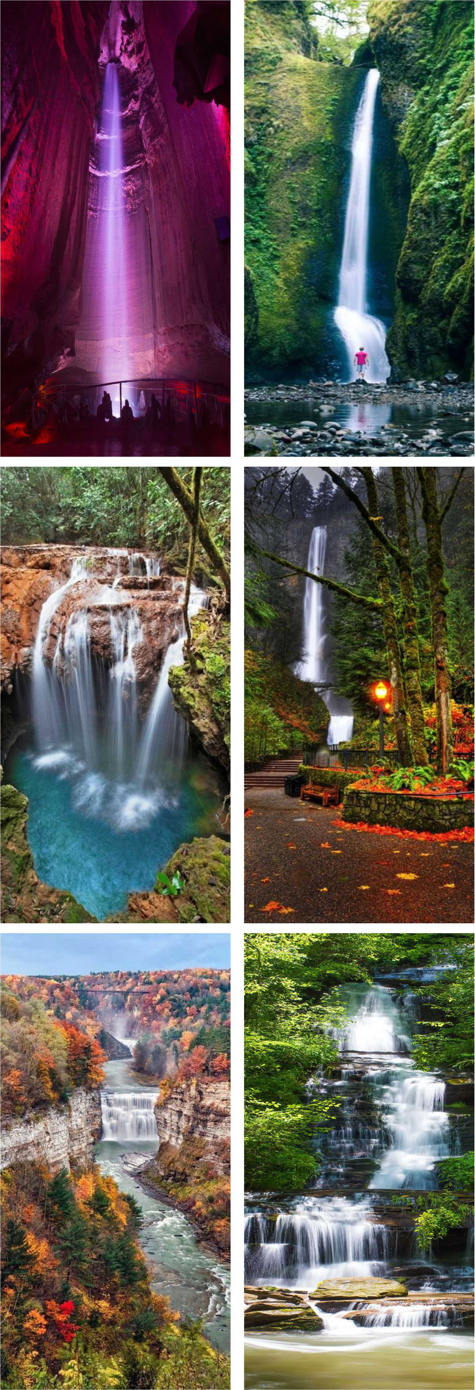 Best usa waterfalls to visit this holiday for all