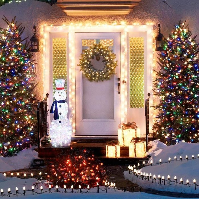 CHRISTMAS FRONT PORCH DECORATIONS10