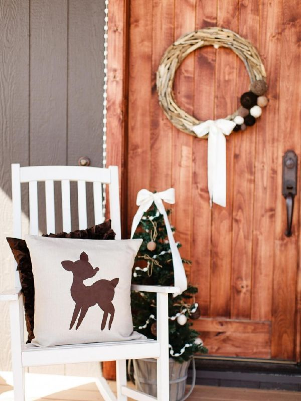 CHRISTMAS FRONT PORCH DECORATIONS4