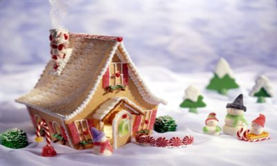 34 Amazing Christmas gingerbread houses
