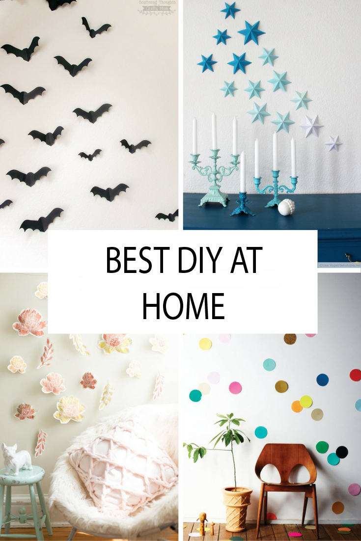 Catchy Best DIY Wall Paper 2017