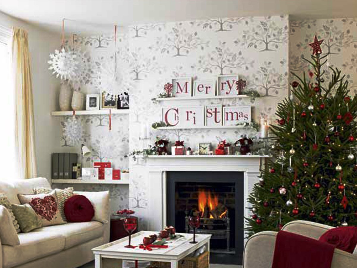Christmas living Room1