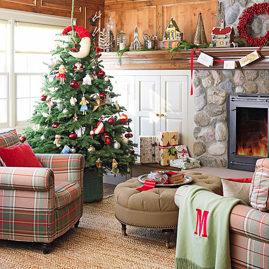 Christmas living Room13