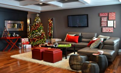 31 Christmas living room design ideas