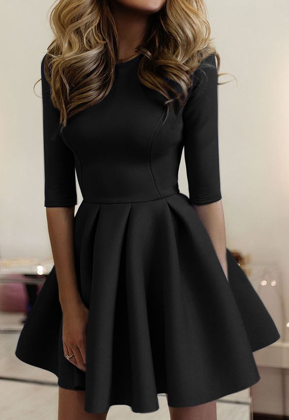 Classy and elegant dress outfits 20