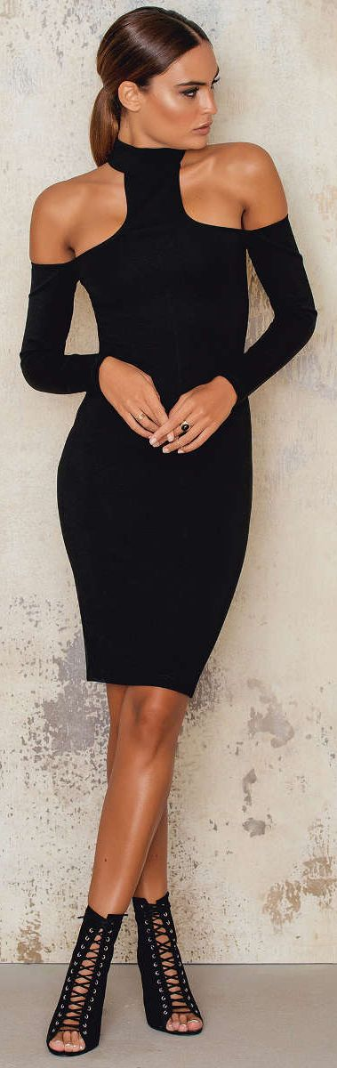 Classy and elegant dress outfits 9