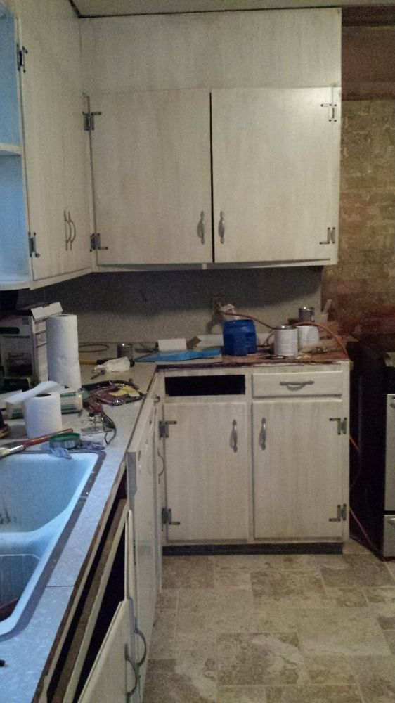 DIY Small Kitchen Makeover On a Budget