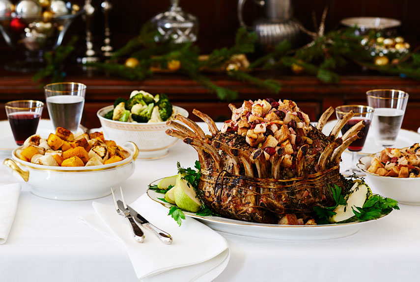 delicious christmas dinner9