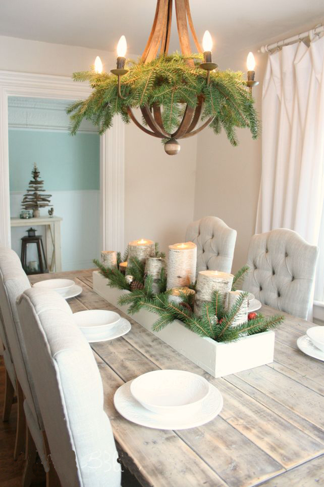 Dining Table For Christmas11