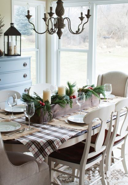 Dining Table For Christmas4