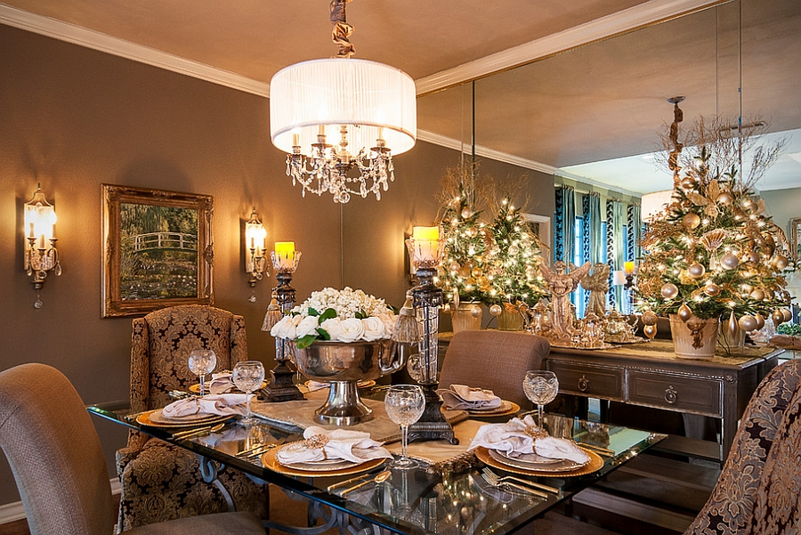 Dining Table For Christmas7