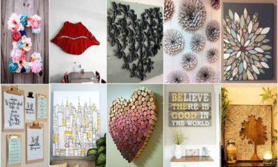 40 Best DIY Paper wall decor ideas