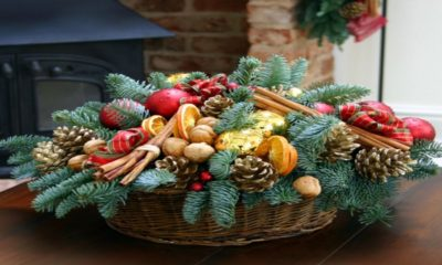 20 Flower Arrangements for Christmas