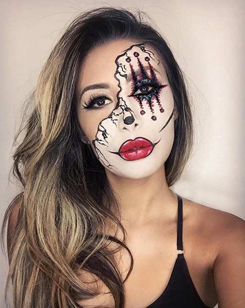 Halloween Best Makeup 4