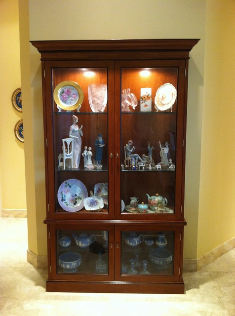 Lighted Curio Cabinets